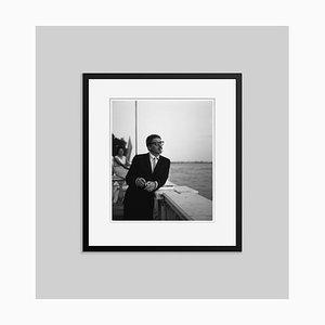 Burt Lancaster Archival Pigment Print Framed in Black