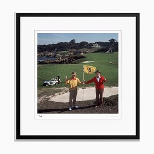 Golfing Pals Framed in Black by Slim Aarons