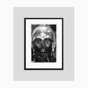 C3PO Archival Pigment Print Framed in Black by Geoff Wilkinson