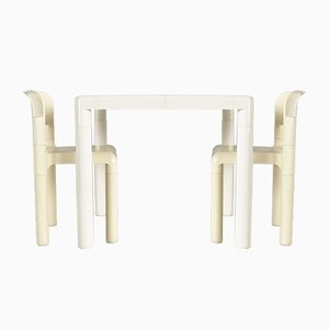 Dining Table & Chairs Set by Eero Aarnio for Upo Furniture, 1979, Set of 3