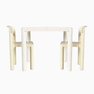 Set Table de Salle à Manger & Chaises par Eero Aarnio pour Upo Furniture, 1979, Set de 3