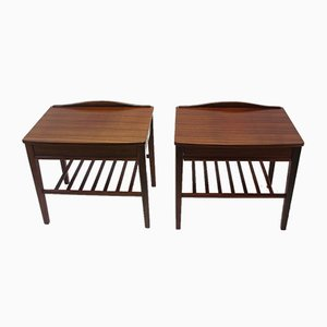 Rosewood Bedside Tables, 1966, Set of 2