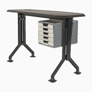 Arco Typewriter Desk by BBPR for Olivetti Synthesis, 1960s