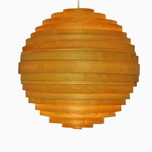 Pinewood Hanging Lamp by Hans Agne Jakobsson