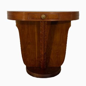 Console Table in Cherry & Walnut by Paolo Buffa, 1930s