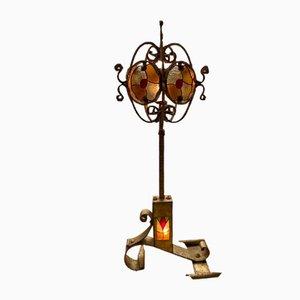 Brutalistische Stehlampe, 1960er