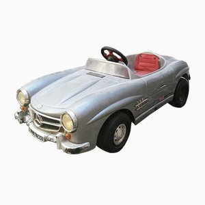 Italian Mid-Century Plastic and Chrome Mercedes-Benz SL Toy Car, 1960s