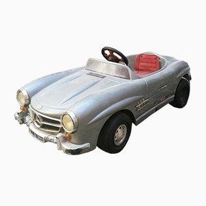 Petite Voiture Voiture Mercedes-Benz SL Mid-Century en Plastique et Chrome, Italie, 1960s