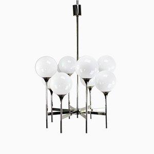 Lámpara de techo Atput Sputnik Mid-Century de Gaetano Sciolari para Boulanger