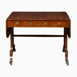 Regency Olivewood Sofa Table