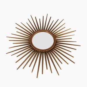 Sunburst Mirror from Chaty Vallauris A.M., 1950s