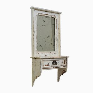 Small Art Nouveau Mirror Hanging Cabinet, 1910s