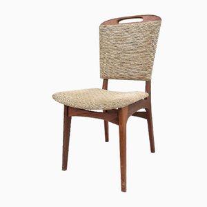 Teak Dining Chairs by Louis van Teeffelen, 1960s, Set of 4