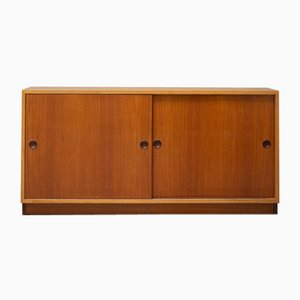 Pine and Teak Sideboard by Børge Mogensen for Fredericia, 1959