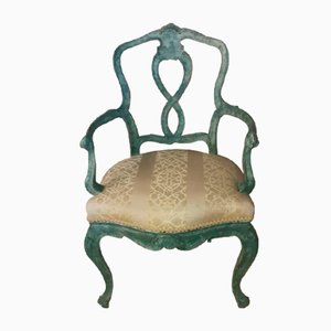Venetian Armchairs, Set of 2
