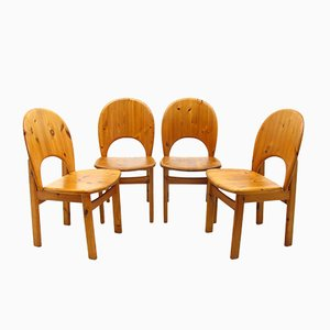 Danish Chairs from Glostrup, 1980s, Set of 4
