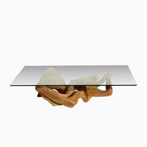 Tavolino da caffè Mid-Century organico, anni '60
