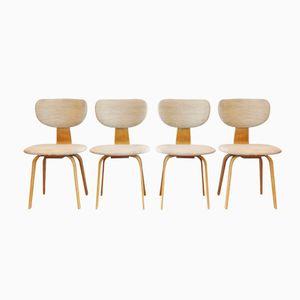 Chaises de Salon SB02 par Cees Braakman pour Pastoe, Set de 4