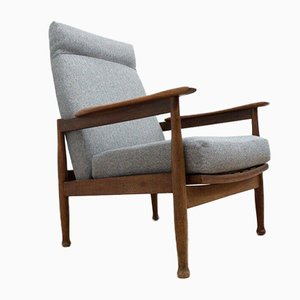 Poltrone Manhattan Mid-Century in teak di Guy Rogers, set di 2