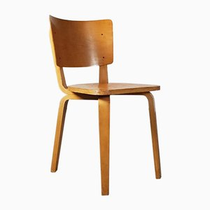 Bent Plywood Chair by Cor Alons for Den Boer, 1940s