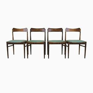 Chaises de Salon Modernes en Teck, Danemark, 1960s, Set de 4
