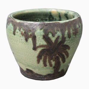 Small Decorative Ceramic Pot by GW, 1975