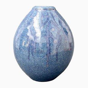 French Decorative Ceramic Vase, 1970s