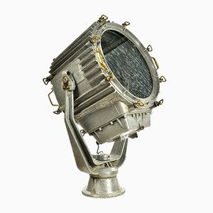 Vintage Russian Chromed-Metal Ship Searchlight