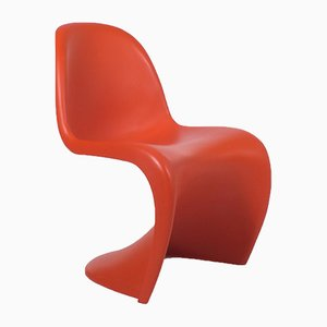 German Panton Chairs by Verner Panton for Vitra, 1960s, Set of 4
