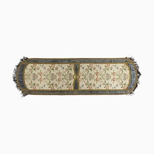 19th Century Table Runner in Embroidered Silk