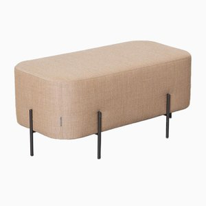 Pale Orange Elephant Bench Pouf by Isaac Piñeiro for Sancal, 2010s