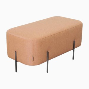 Orange Elephant Bench Pouf by Isaac Piñeiro for Sancal, 2010s