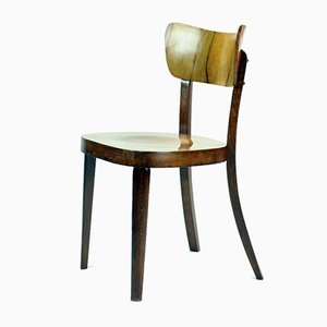 Classical Dining Chairs in Walnut Veneer from Tatra, Czechoslovakia, 1960s, Set of 4