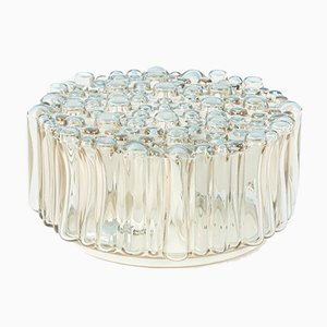 Bubble Glass Ceiling Lamp from Glashütte Limburg, 1960s