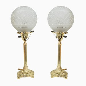 Jugendstil Table Lamps, Vienna, 1908, Set of 2