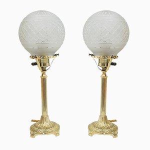 Jugendstil Tischlampen, Wien, 1908, 2er Set