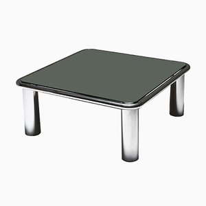 Tables Basses à Effet Miroir par Gianfranco Frattini pour Cassina, 1960s, Set de 2