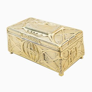 Large Jugendstil Jewelry Box, Vienna, 1908