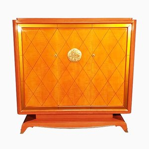 Art Deco Cabinet by Jean Desnos, 1940s