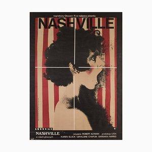 Polish Nashville A1 Film Movie Poster by Andrzej Klimowski, 1976