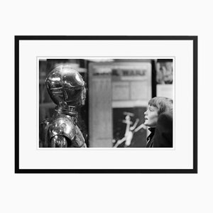 Close Encounter Archival Pigment Print Framed in Black by Geoff Wilkinson