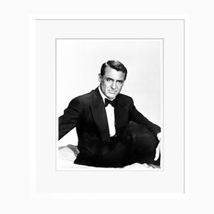 Cary Grant Archival Pigment Print Framed in White by Everett Collection
