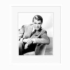 Cary Grant Endears Archival Pigment Print Framed in White by Everett Collection