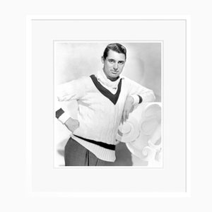Dapper Cary Grant Archival Pigment Print Framed in White by Everett Collection