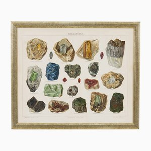 Austrian Lithography of Stones, 1888