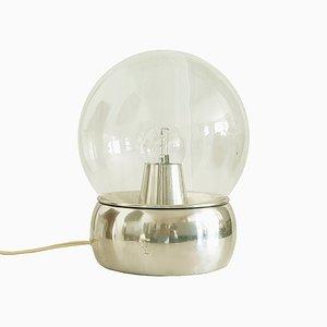 Aluminium & Glas Vieste Tischlampe von Gianemilio Piero & Anna Monti für Candle, 1970er