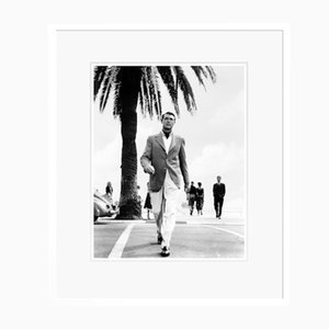Cary Grant in Catch a Thief Archival Pigment Print Framed in White by Everett Collection