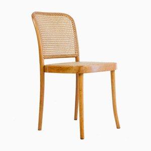 Restaurierter Vintage Modell 811 Prague Stuhl von Josef Hoffmann für Thonet