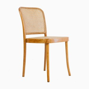 Vintage Restored Model 811 Prague Chair by Josef Hoffmann for Thonet