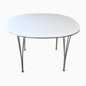 Mid-Century Supercirkel Dining Table by Bruno Mathsson & Piet Hein for MIAB